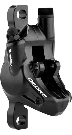 Shimano Deore BR-M615  Zaciski hamulca tarczowego przednie koło/tylne koło  czarny